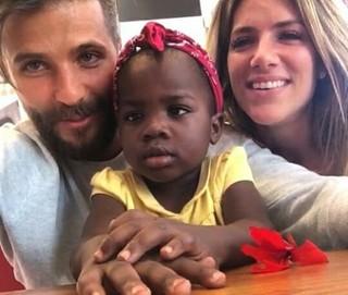 Bruno Gagliasso e Giovanna Ewbank com a filha, Titi (Foto: Instagram / Reprodução)