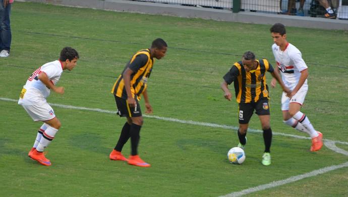 São Paulo x Rondonópolis Copa São Paulo de Futebol Júnior (Foto: Vitor Geron)