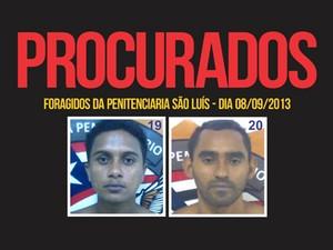 Disque-denuncia divulga foto de fugitivos do Centro de Detenção (Foto: Divulgação/Disque-Denúncia)