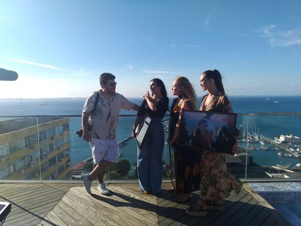 Akira Cravo, Cleo Pires, Angélica e Mariana Ximenes (Foto: Divulgação)