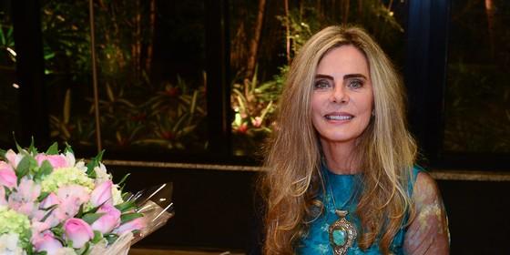 Aos 65 anos, Bruna Lombardi vai passar a limpo quatro décadas de carreira no Vídeo Show desta terça-feira (22) (Foto: Ag News)