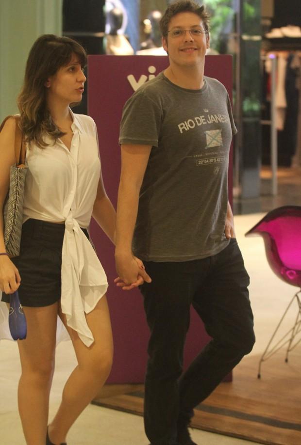 Fábio Porchat e Nataly Mega (Foto: AgNews)