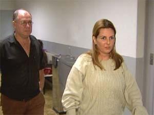 Adriana Teline em depoimento em Franca (SP) (Foto: Reprodução/EPTV)