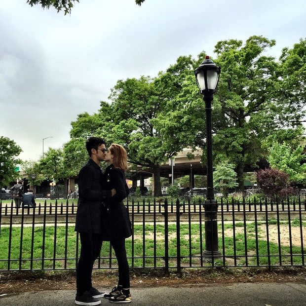 Sergio Malheiros com Sophia Abraão (Foto: Reprodução / Instagram)