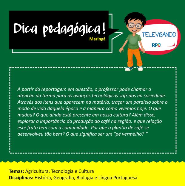 Dicas Pedagógicas - Maringá (SITE) (Foto: Divulgação/ RPC)