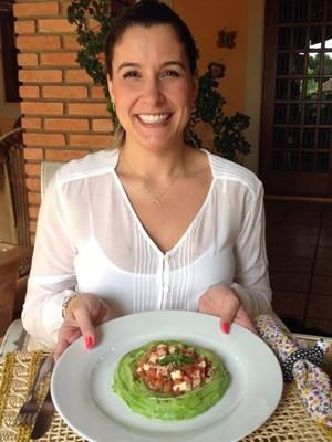 'Pulo do gato está em preparar alimentos que tenham nome, cor e formato dos tradicionais', diz nutricionista (Foto: G1)