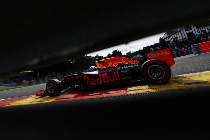 Max Verstappen é o mais rápido no 2º treino livre para o GP da Bélgica (Foto: Getty Images)