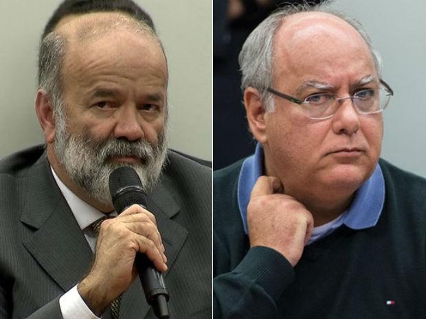 Vaccari e Duque (Foto: Rede Globo; Marcelo Camargo/Agência Brasi)
