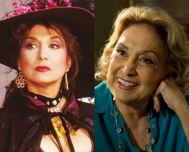 Eva Wilma (Foto: CEDOC / TV Globo e Estevam Avellar / TV Globo)