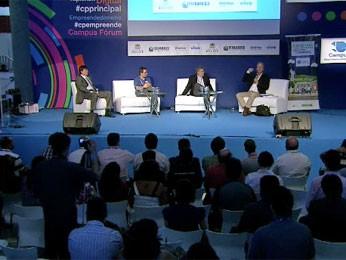 Palestra 'Nordeste, o novo Brasil é aqui' (Foto: Reprodução / TV Globo)