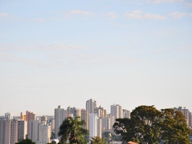 Tempo Campo Grande MS nesta sexta-feira (2) (Foto: Fernando da Mata/G1 MS)