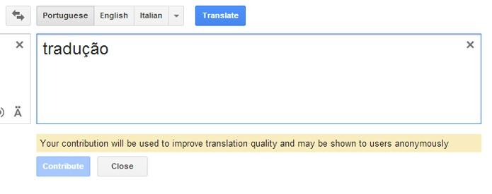 Google translate convoca usurios e profissionais para melhorar funo permite sugerir tradues diretamente na pgina do tradutor foto reproduogoogle stopboris Choice Image