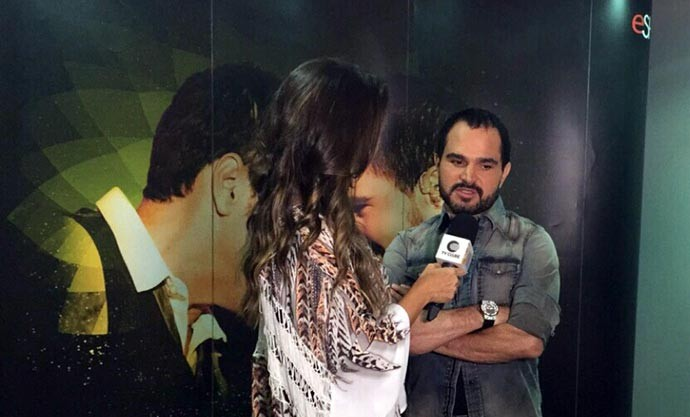 No Programão, Luciano fala sobre o novo trabalho da dupla (Foto: Rede Clube)