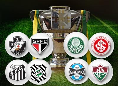 CARROSSEL - Sorteio Copa do Brasil (Foto: Editoria de Arte)