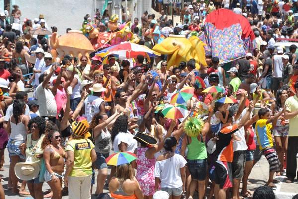 Bloco Baiacu na Vara anima quarta-feira em Natal (Foto: Divulgação)