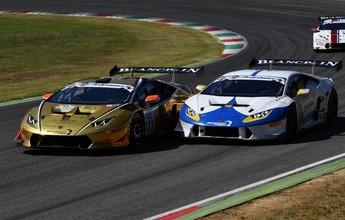 Brasileiro é segundo em corrida do GT italiano e se aproxima do título