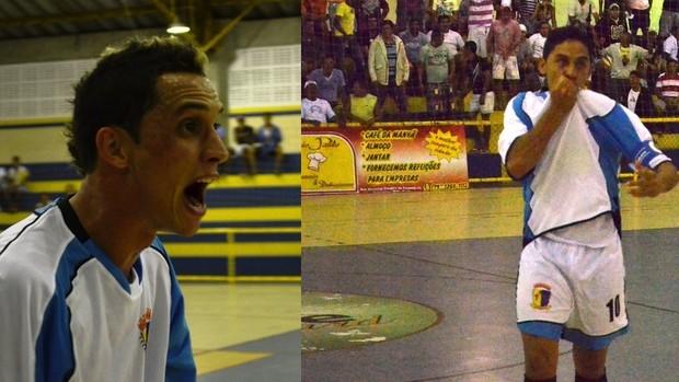 Batom e Izavan vão defender o Sergipe na Taça Brasil de Futsal (Foto: Felipe Martins/GLOBOESPORTE.COM)