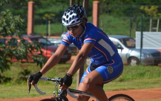 Mariane Ferreira, ciclista de Ribeirão Preto (Foto: Divulgação/Ciclismo Ribeirão)
