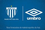 Avaí confirma parceria com a Umbro e marca festa de lançamento para quinta