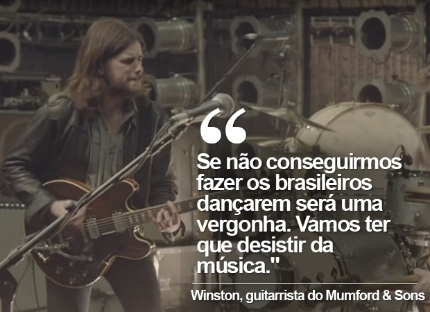 Winston Marshall, guitarrista do Mumford & Sons (Foto: Divulgação)