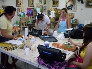 Escola de Artes Uberaba (Foto: Divulgação/ACIU/EOF)
