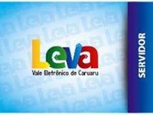 Cartão Leva Servidor (Foto: Divulgação/AETPC)