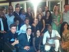 Famosos se reúnem para festejar o enorme sucesso do 'Dança 2013'