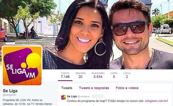 Twitter Se Liga VM (Foto: Divulgação)