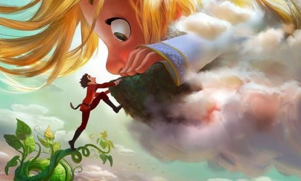 Arte de 'Gigantic', filme que contará história de João e o pé de feijão (Foto: Disney)