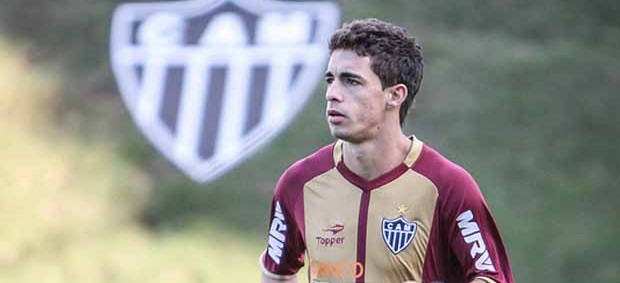 Atacante Neto Berola, do Atlético-MG (Foto: Bruno Cantini / Flickr do Atlético-MG)
