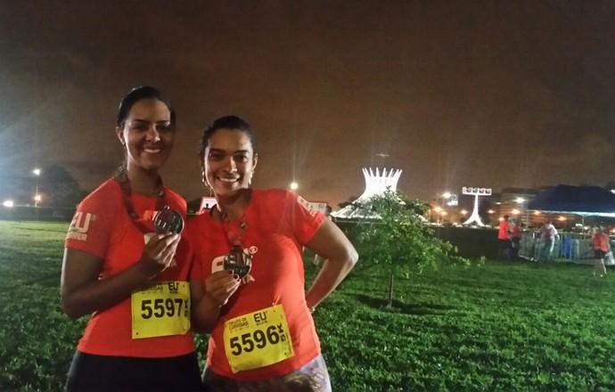EuAtleta - corrida Brasíla amigas (Foto: Renata Domingues)