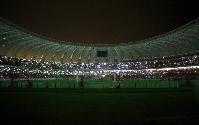internacional x coritiba - Falta de Luz no Beira Rio (Foto: Getty Images)