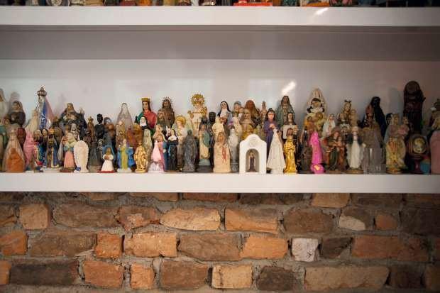 Coleção de santas (Foto: Marco Antonio/Editora Globo)
