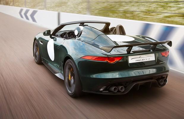 Jaguar F-Type Project 7 (Foto: Divulgação)