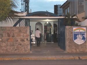 A delegacia da Mulher de Petrolina funciona nos dias úteis, das 8h às 18h (Foto: Magda Lomeu/GloboEsporte.com)