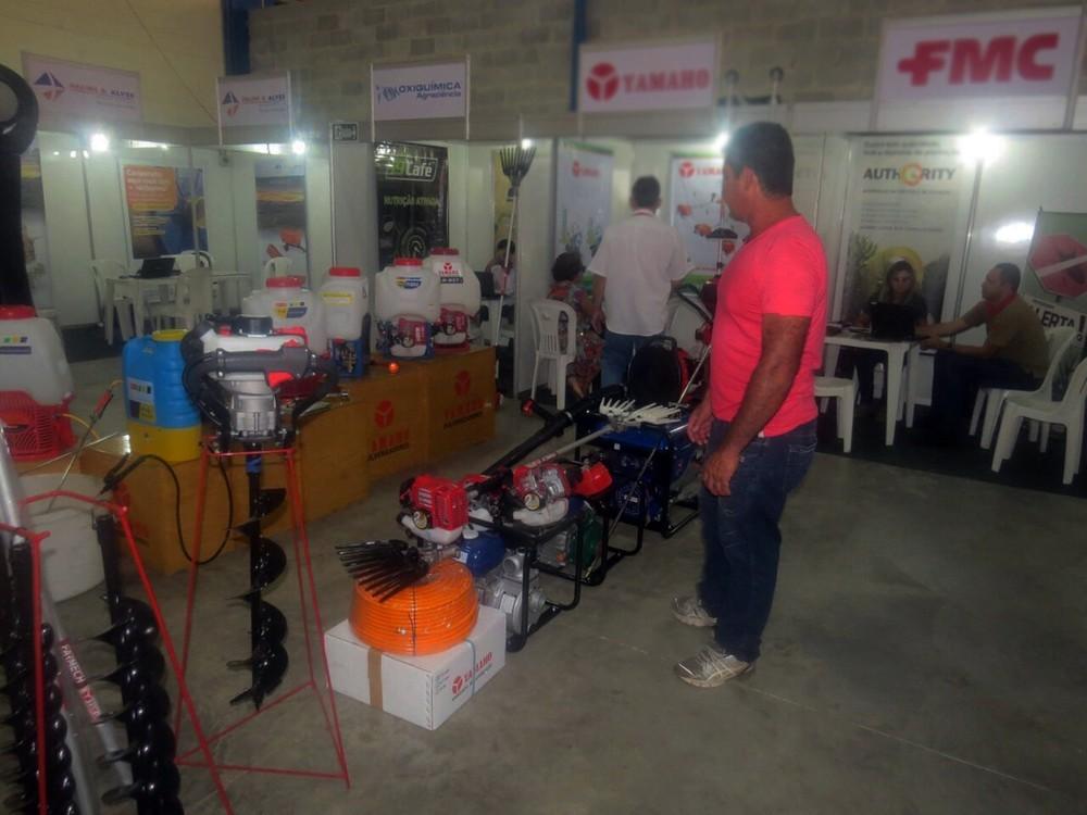 Dia de Negócios traz novidades em insumos e maquinários para produtores em Machado (Foto: Divulgação/Copama)