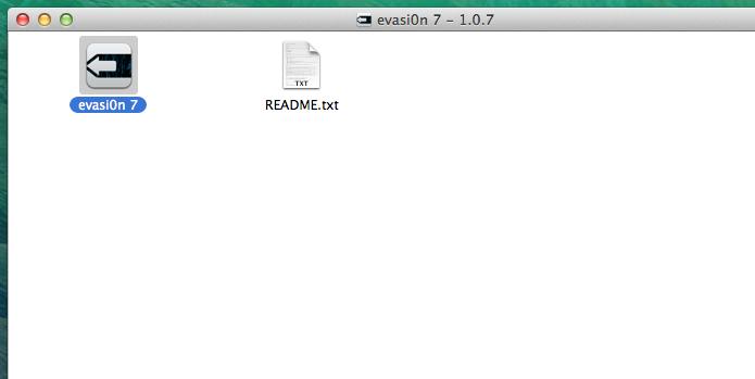 Executando o evasi0n no Mac (Foto: Reprodução/Edivaldo Brito)