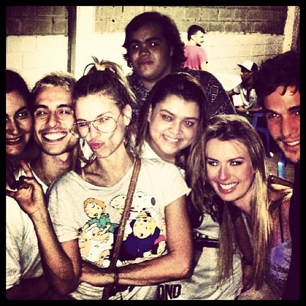 Carolina Dieckmann, Preta Gil, Fernanda Keulla e André Martinelli (Foto: Reprodução / Instagram)