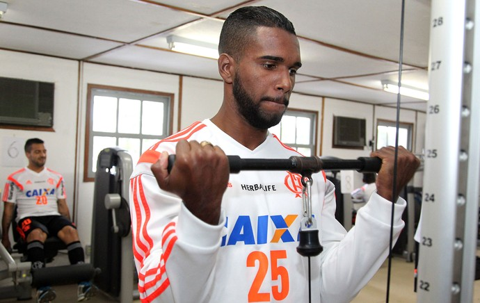 Luiz Antônio Flamengo Academia (Foto: Gilvan de Souza/Flamengo)