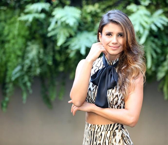 Paula Fernandes se prepara para gravação do novo DVD (Foto: Carol Caminha/Gshow)