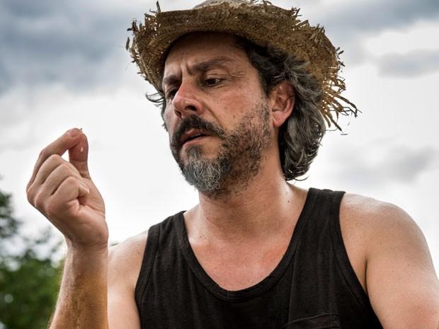 Zé Alfredo tem experiência que remete ao seu passado (Foto: Ellen Soares/TV Globo)