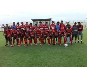 Moto Club (MA) sub-17 perdeu, por 3 a 1, amistoso contra Sabiá (MA) (Foto: Divulgação / Moto Club)