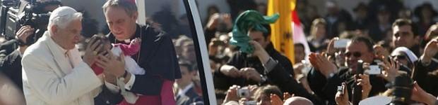 Em última audiência pública, Bento XVI  diz que papado teve 'águas agitadas' (Max Rossi/ Reuters)