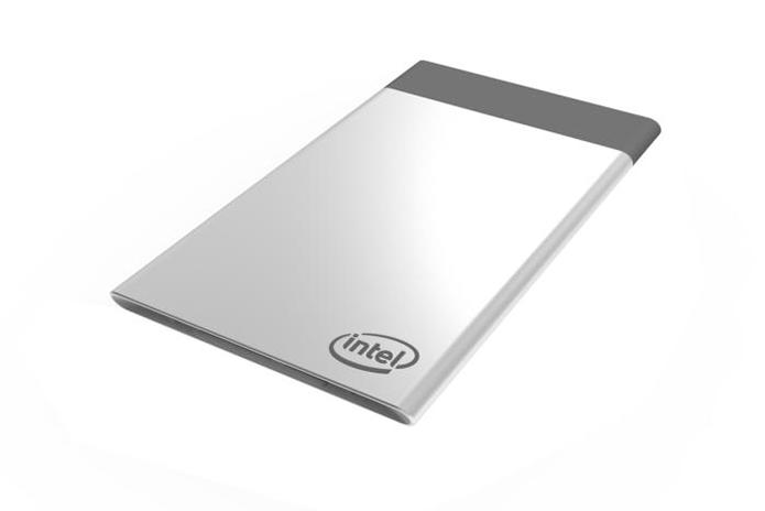 Computer Card da Intel é um computador completo criado para permitir upgrades modulares em dispositivos compatíveis (Foto: Divulgação/Intel)