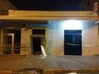 Ladrões explodem caixas eletrônicos dos dois bancos de Imbaú, no Paraná