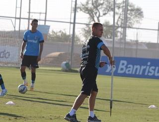 Rogério Dias, preparador físico Grêmio (Foto: Eduardo Moura/GloboEsporte.com)