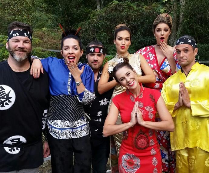 Desafio do Hashi (Foto: Ivo Madoglio/TV Globo)