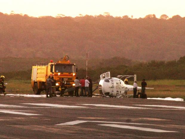 helicóptero (Foto: José Nazal Pacheco Soub/VC no G1)