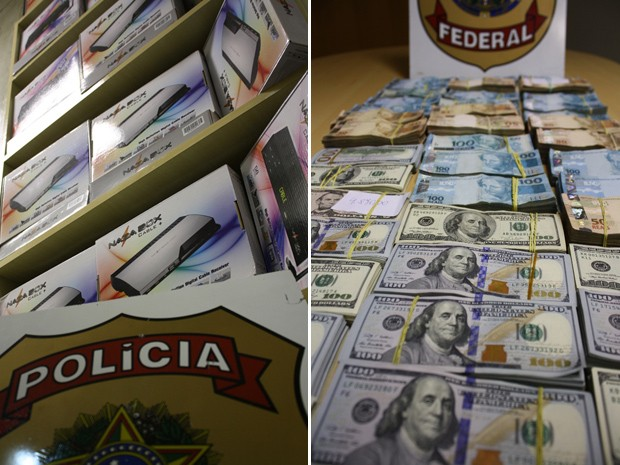 Receptores TV digital Porto Alegre (Foto: Polícia Federal/Divulgação)