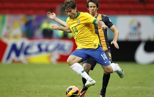 maxwell brasil x austrália estádio mané garrincha (Foto: Rafael Ribeiro / CBF)